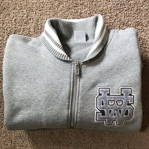 Nike zip-up sweatshirt